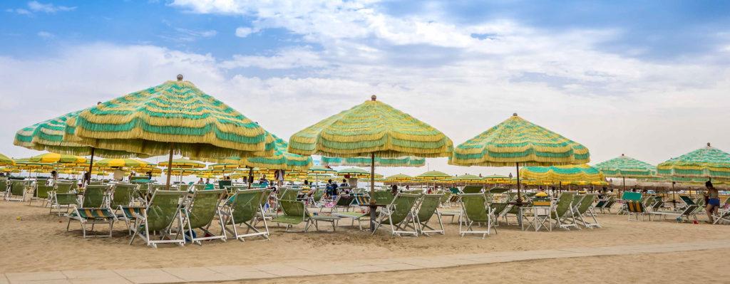 spiaggia hotel roma sul mare